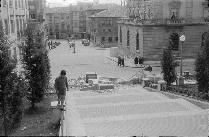 Marqués de Estella - derribo 24 mar 1961 - Santiago Aria y Albizu